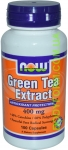 NOW Green Tea Extract 100 капс