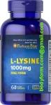 PURITAN'S PRIDE L-Lisine 1000mg 60caps