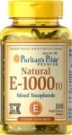 PURITAN'S PRIDE vitamin E-1000 50кап