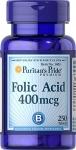 Puritan's Pride Folic Acid 250 т