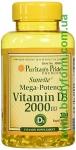 Puritan's Pride   Vitamin D3 2000 200caps