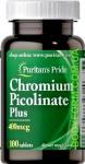 Puritan's Pride Chromium Picolinate Plus 100 т