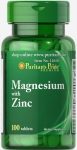 Puritans Pride MAGNESIUM with ZINC 100 tablets