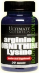 UltN ARGININE ORNITHINE LYSINE - 100 кап