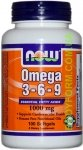 NOW Omega 3-6-9 100 капс